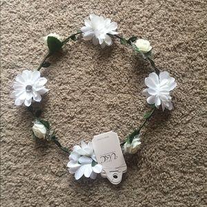 Head crown floral flowers